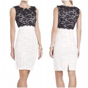 BCBGMaxAzria Black White Cerise Nordstrom Dress